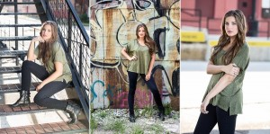 Senior portrait session with Kasey in Kansas City-2