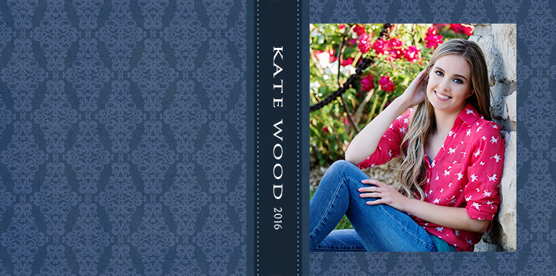 Katie Album Cover-Blue