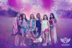 Americana senior portrait shoot in Kansas City with our Class of 2017 Model Team.